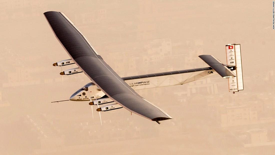 Solar Impulse 2 – Solar Powered Aircraft Takes off