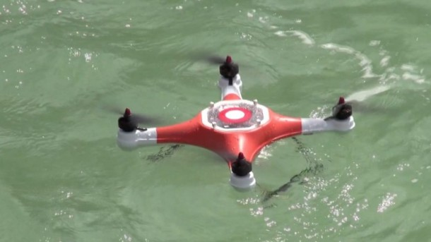 Splash Drone – For Shooting Pictures underwater 2