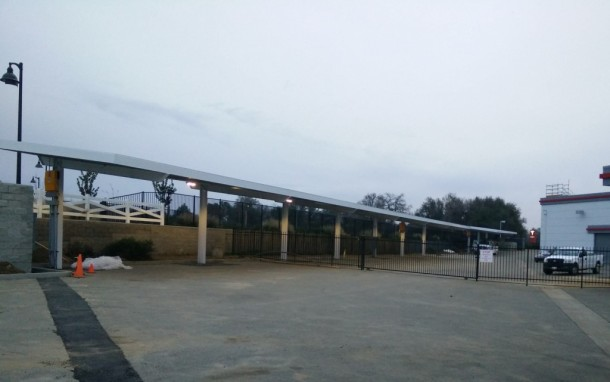 Tesla's First Solar Powered Supercharging Site 3