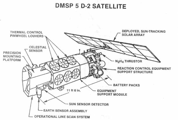 US Satellite Exploded – ESA Assessment 3