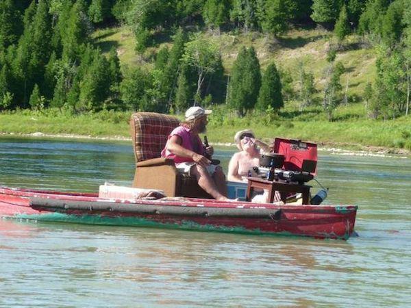 redneck boat 0
