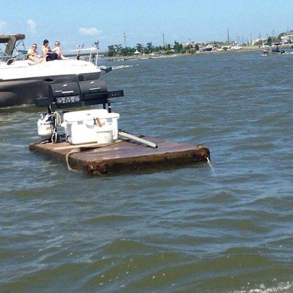 redneck boat 1