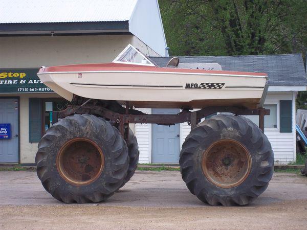 redneck boat 11