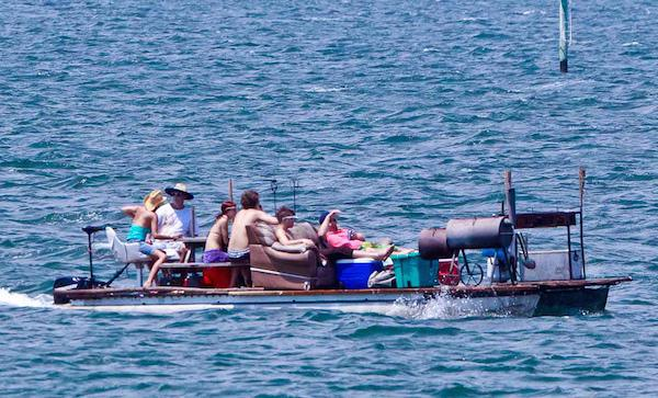 redneck boat 18