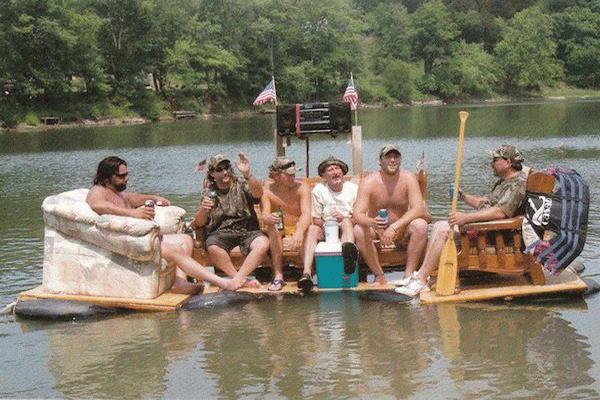 redneck boat 2