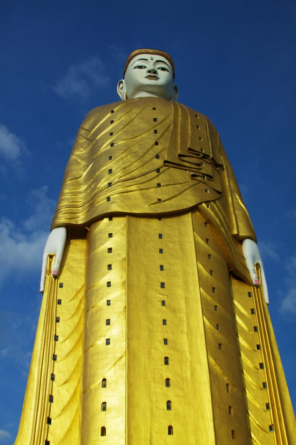 The 423 ft standing Buddha at Bodhi Tataung #2