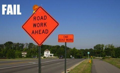 22 Road Construction Fails 8