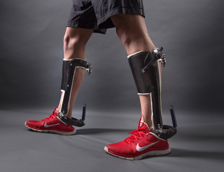 Ankle exoskeleton that is Lightweight and User Friendly