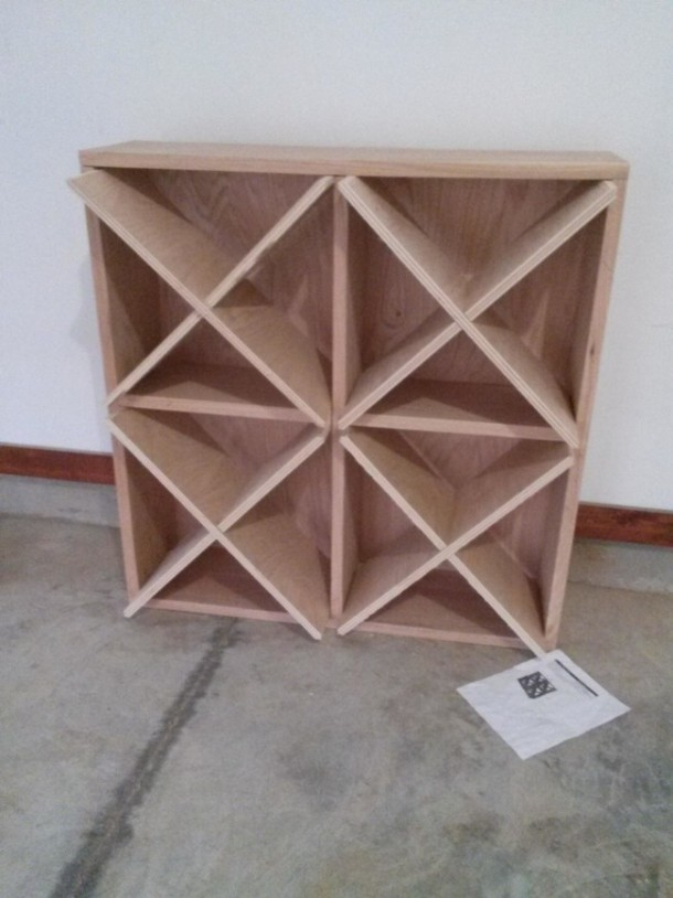 DIY Wine Rack That Can Hold 96 Bottles 7