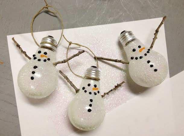 Fancy Uses of Old Lightbulbs 17