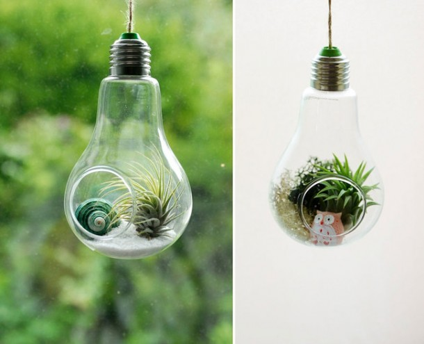 Fancy Uses of Old Lightbulbs 2