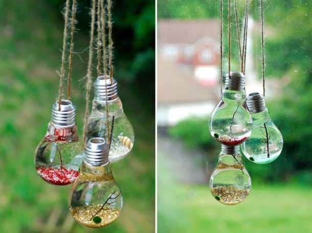 Fancy Uses of Old Lightbulbs 3