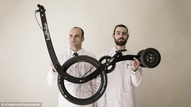 Halfbike – Single Wheel and a Stick For Steering2
