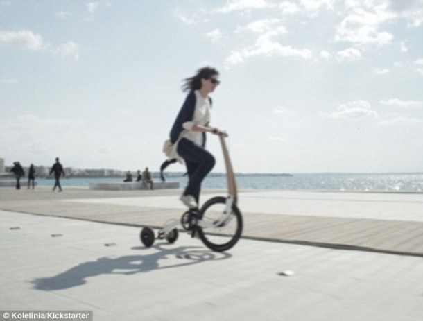 Halfbike – Single Wheel and a Stick For Steering3