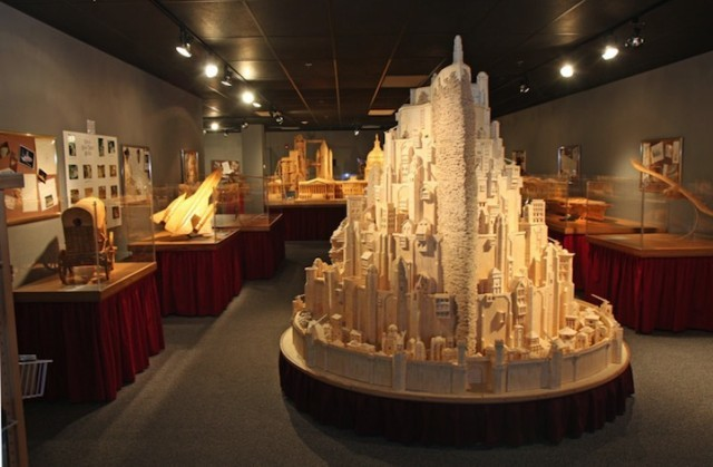 He Created this Model Castle in 3 Years With Something You'd Never Have Imagined 3