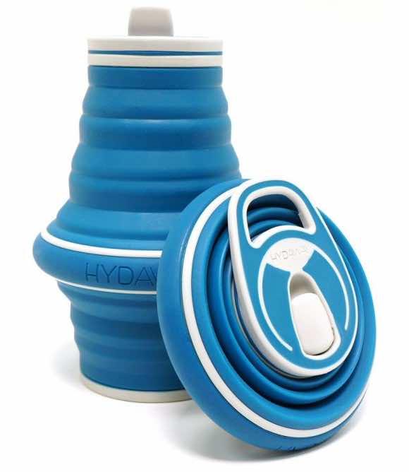 Hydaway Water Bottle Folds into A Disc 7