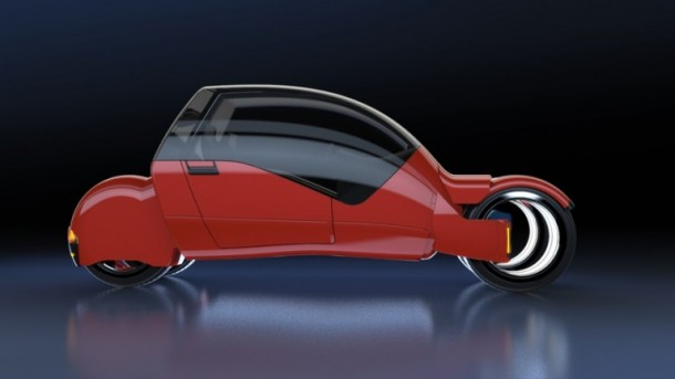 Lane Splitter Concept Car Transforms into Two Motorbikes 11