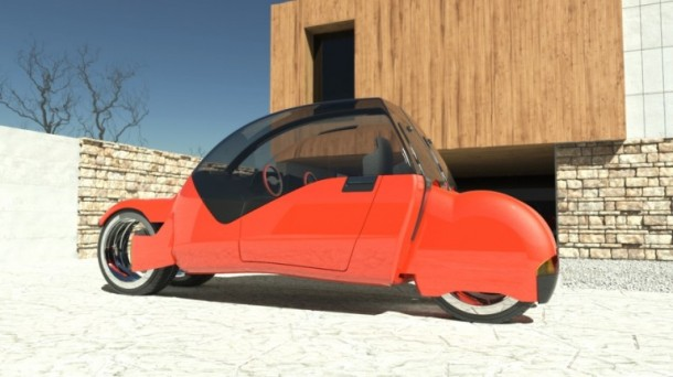 Lane Splitter Concept Car Transforms into Two Motorbikes 4