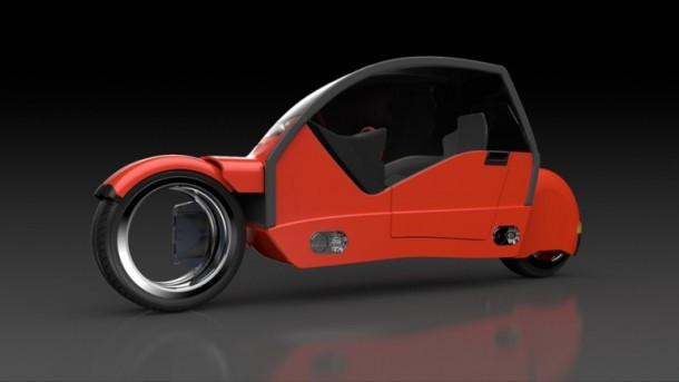Lane Splitter Concept Car Transforms into Two Motorbikes 6