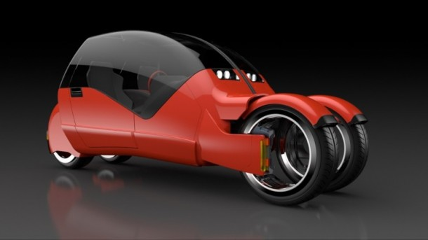Lane Splitter Concept Car Transforms into Two Motorbikes 7