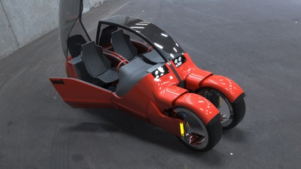 Lane Splitter Concept Car Transforms into Two Motorbikes 9