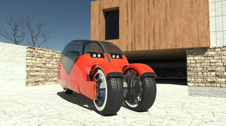 Lane Splitter Concept Car Transforms into Two Motorbikes