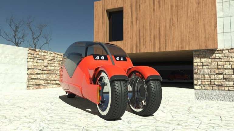 Lane Splitter Concept Car Transforms into Two Motorbikes