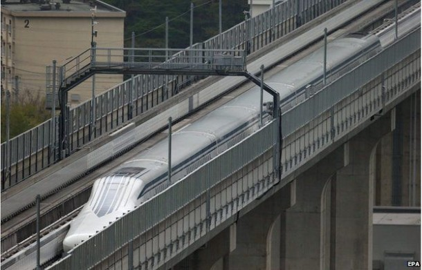 Maglev Train Sets and Breaks its Own Record in Japan Within a Week 3