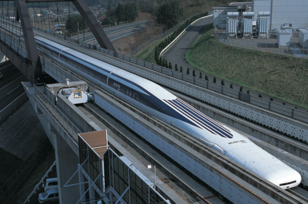 Maglev Train Sets and Breaks its Own Record in Japan Within a Week