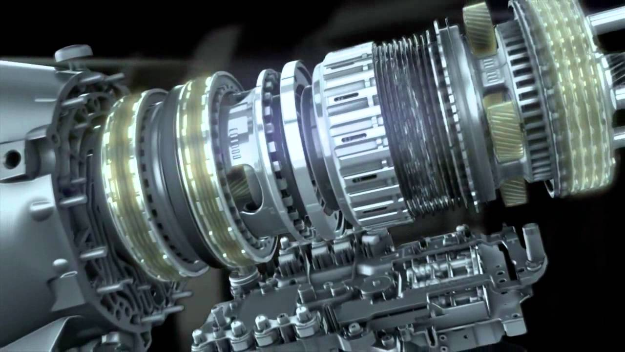 Mercedes 7G-Tronic Transmission