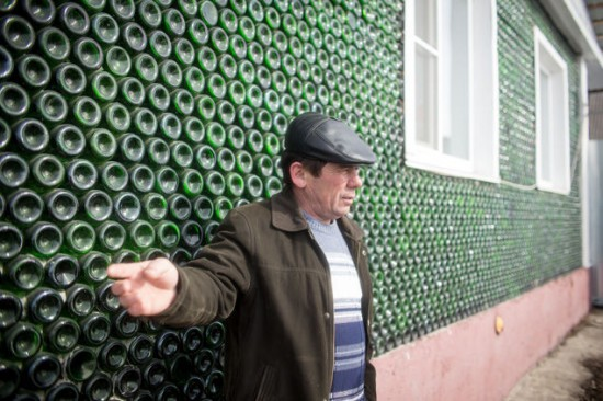 Palace Oz is a House Built from Champagne Bottles