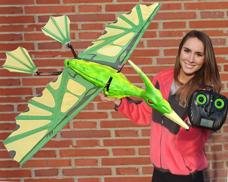 RC Flying Pterodactyl – The Horror and Fun