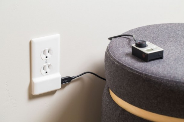 SnapPower charger Converts any Wall Outlet into a USB Charger