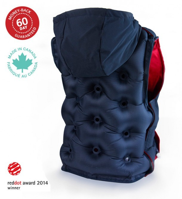 Snug Vest Tackles Anxiety in a Creative Way