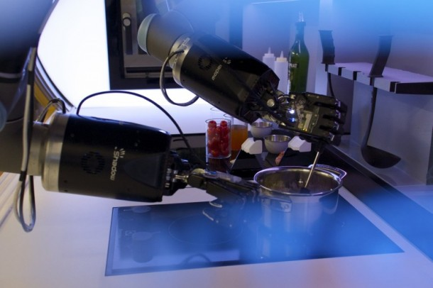 The Automated Kitchen Sports a Robot Chef 2