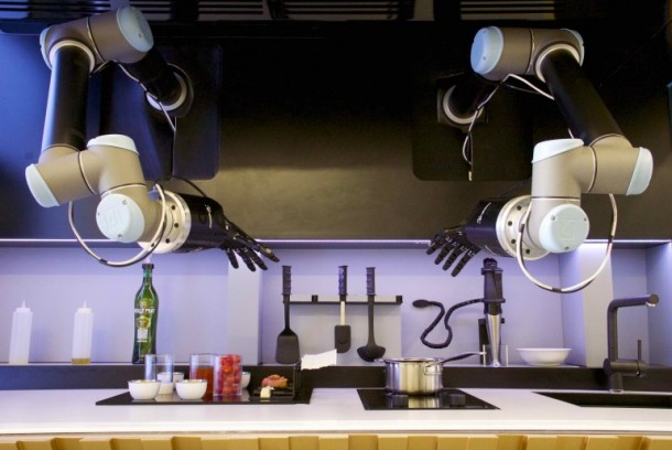 The Automated Kitchen Sports a Robot Chef