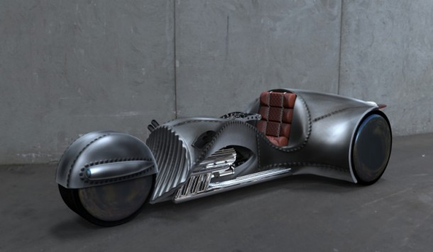 The Rivet – Trike Designed By William Shatner