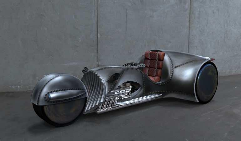 The Rivet – Trike Designed By William Shatner
