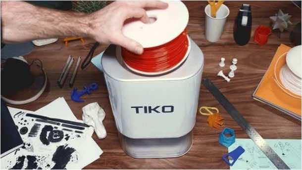 Tiko 3D Printer is a Unibody Printer 4