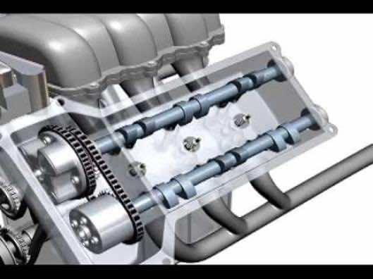car engine animation