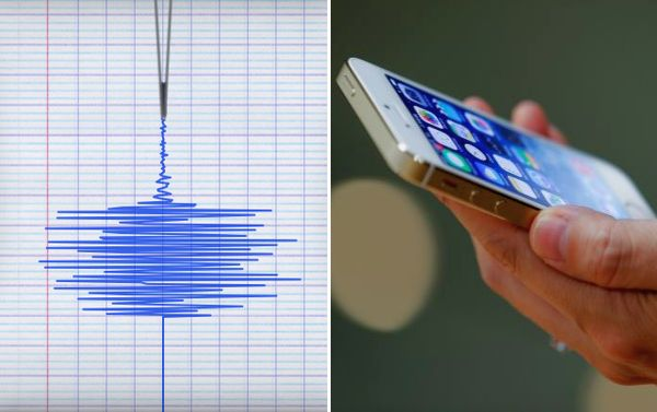 Smartphones Can Now Detect Earthquakes Early And Give You More Time To Run