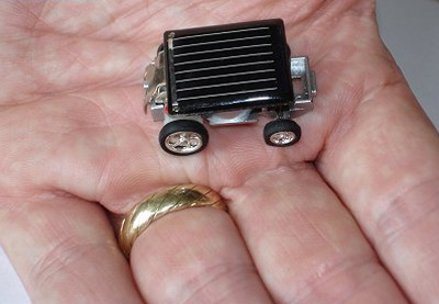 Smallest Solar Power Vehicle Smallest Gadgets In The World