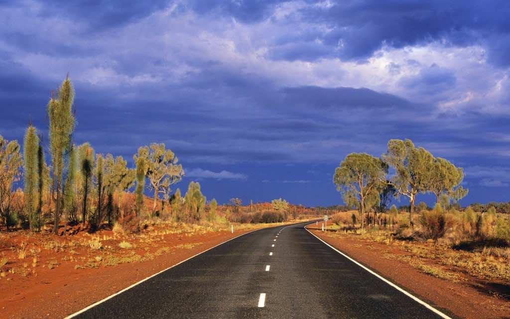 Lasseter Highway, Northern Territory, Australia