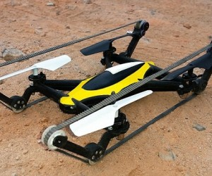 B-Unstoppable A Hybrid Tank Quadcopter