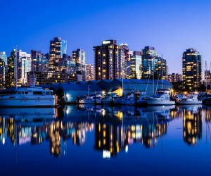 Vancouver Canada HD Desktop Background