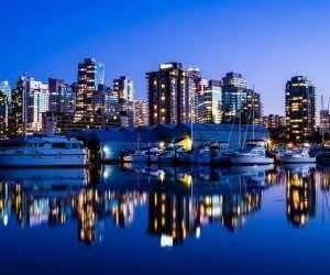 Vancouver Canada HD Desktop Background