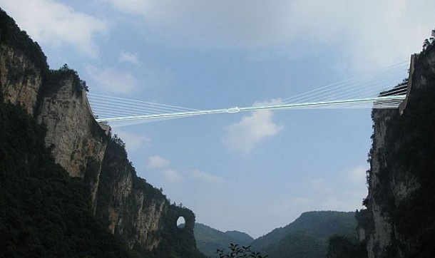 China To Open World's Longest Glass Bridge Next Year 2