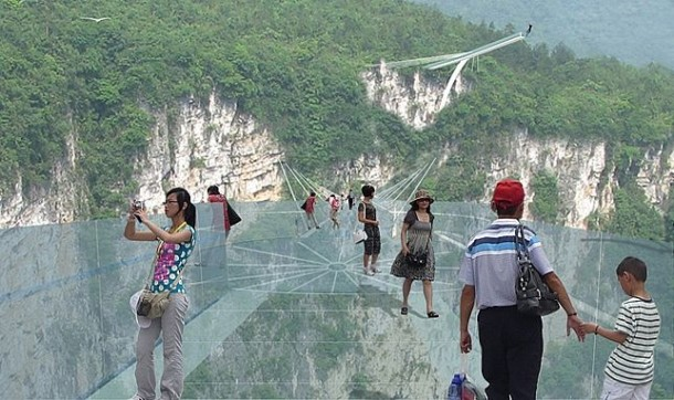 China To Open World's Longest Glass Bridge Next Year 3