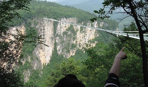 China To Open World's Longest Glass Bridge Next Year 4