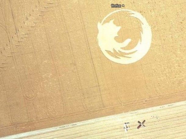 Crop Circles Spotted on Google Maps 3